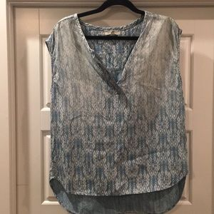 Forever 21 Chambray Tencel blouse